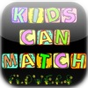 Kids Can Match Flowers